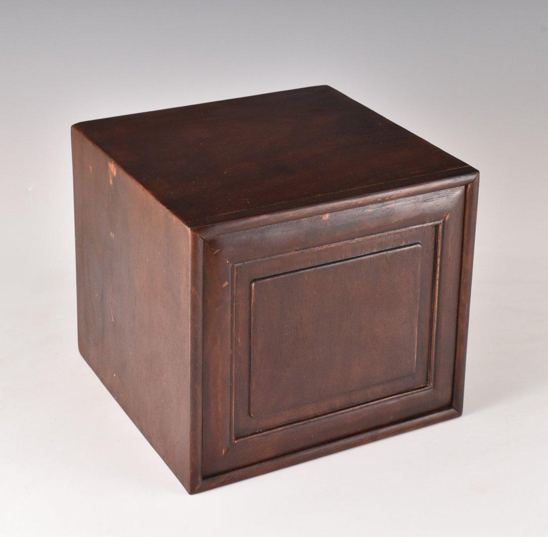 NIGHT LOTUS BLOOMS PORCELAIN BOWL IN ORIGINAL BOX - 7