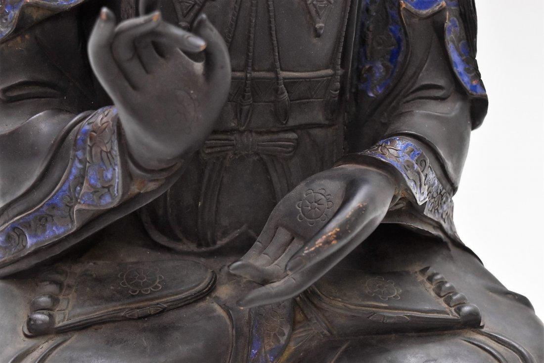 MASSIVE BRONZE BUDDHA OF BODDHISHATVA - 10