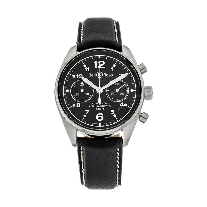 BELL&ROSS S/S Vintage 126 Chronograph Automatic