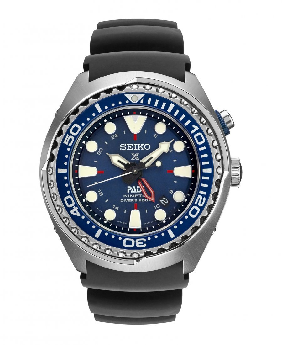 SEIKO SUN065 PADI Special Edition Kinetic GMT Diver