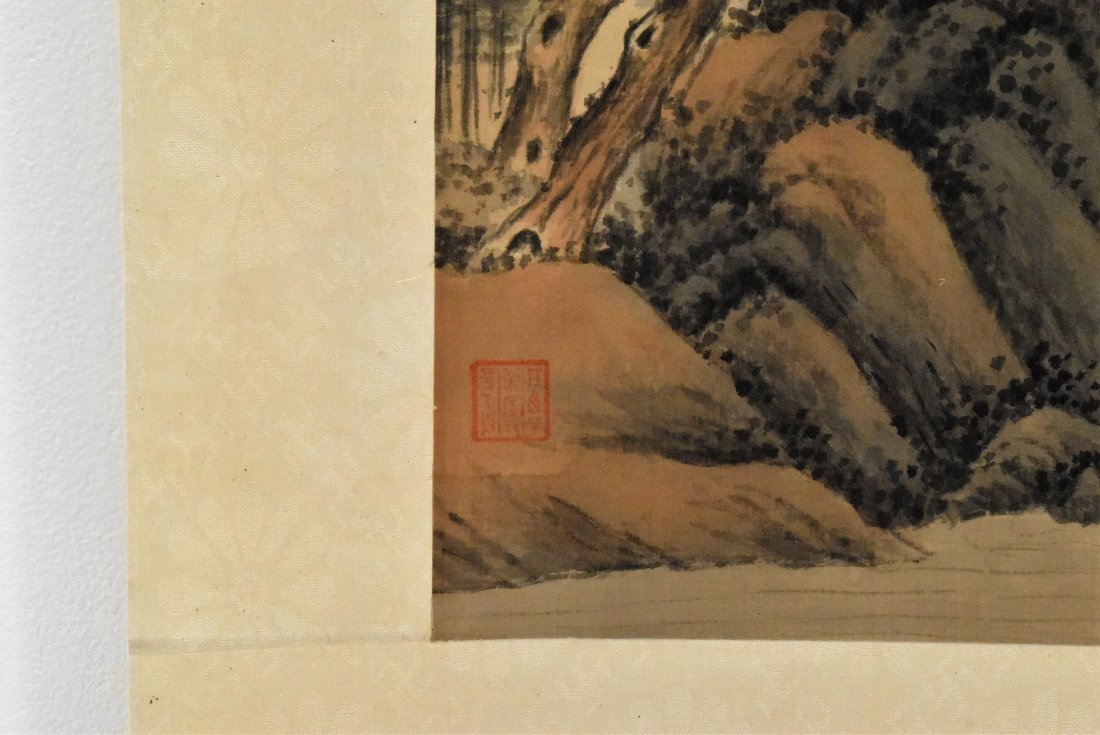 SET OF 3 PCS CHINESE SCROLL PAINTINGS - 9
