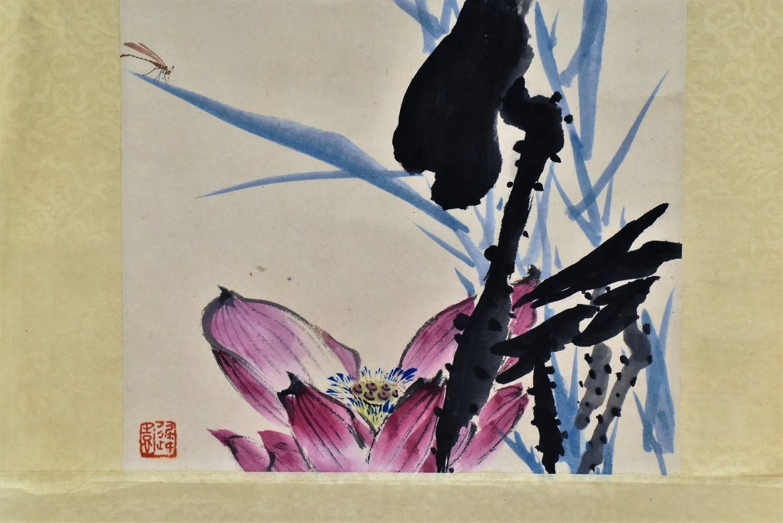 SET OF 3 PCS CHINESE SCROLL PAINTINGS - 5