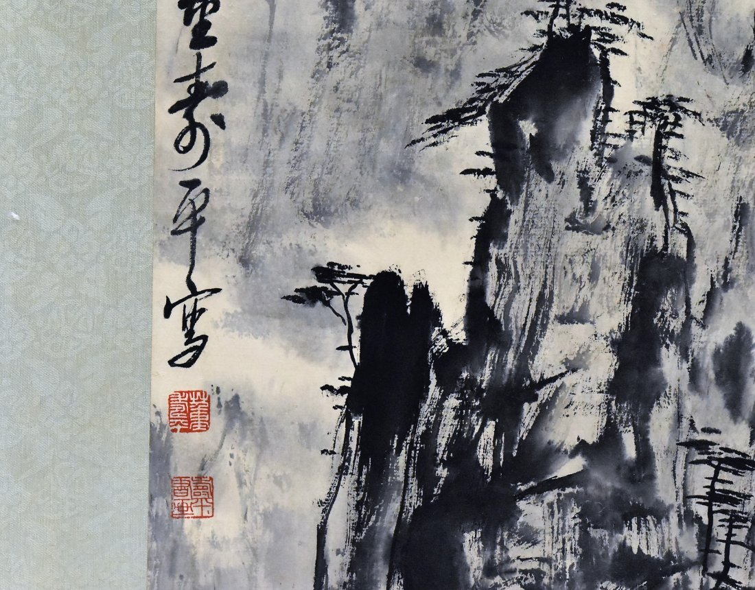 SET OF 4 PCS CHINESE SCROLL PAINTINGS - 2