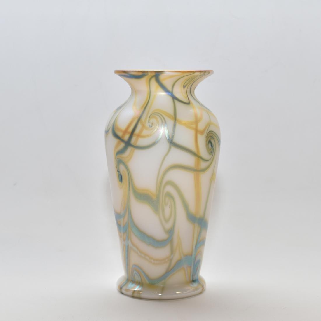 ART NOUVEAU STYLE GLASS VASE