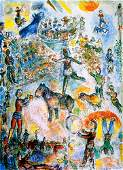 ***Marc Chagall***-Limited Edition Great Circus II