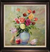 Arina Rose Bouquet Original oil