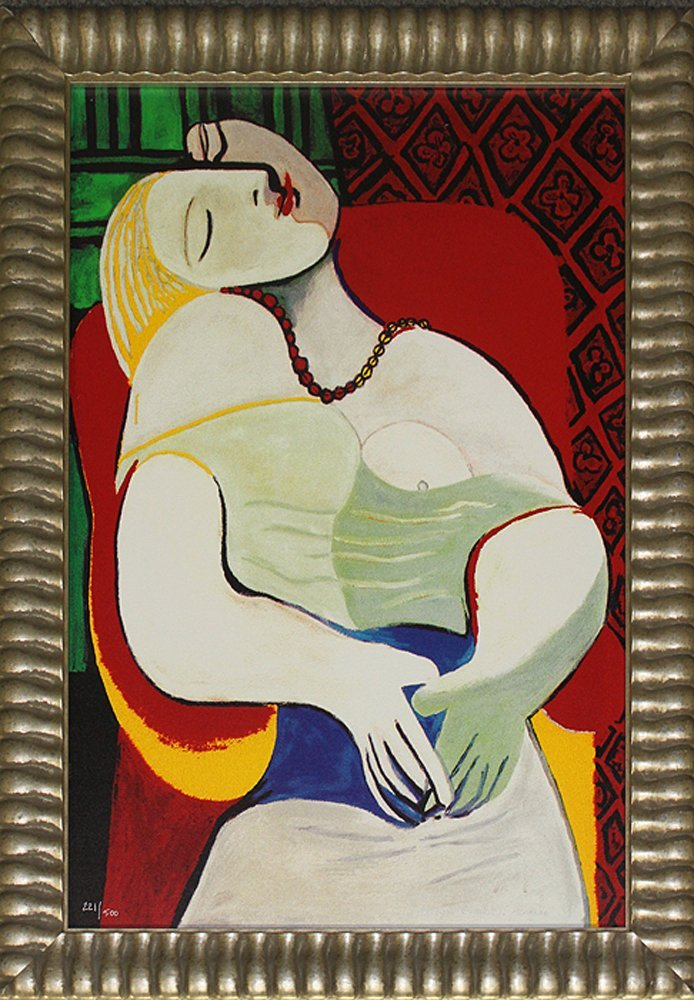 Pablo Picasso-Limited Edition Lithograph-The Dream