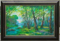 Michael Schofield- Mixed Media-Spring Forest