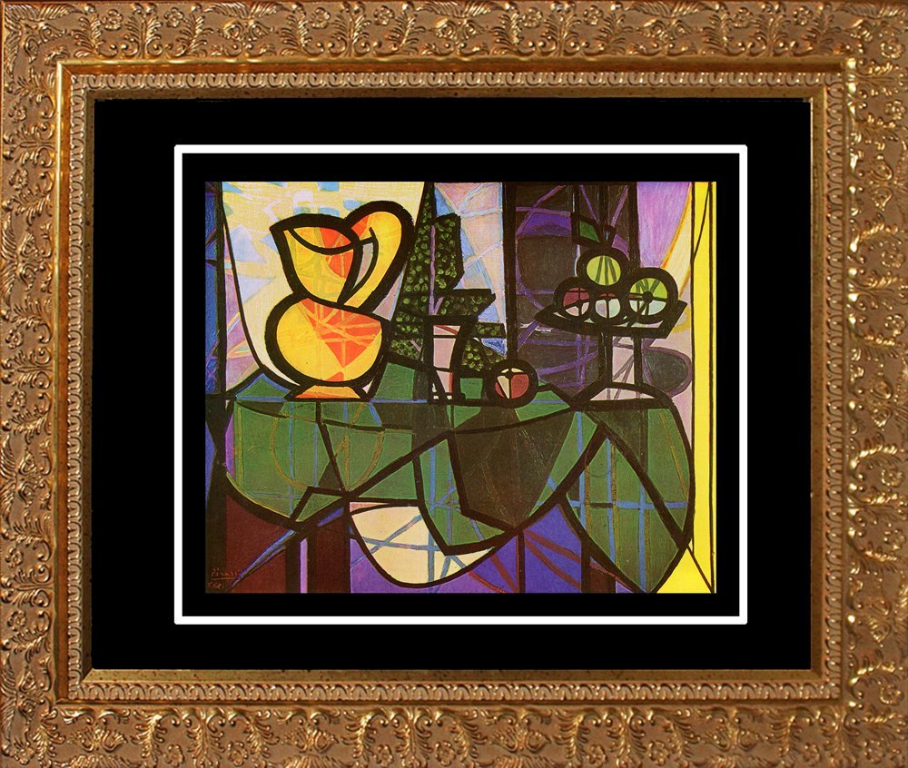 Pablo Picasso-Limited Edition Pitcher and Bowl of Fruit