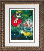 Marc Chagall Limited Edition Madonna and the Red Robe