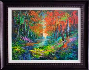 Michael Schofield Original Oil on canvas