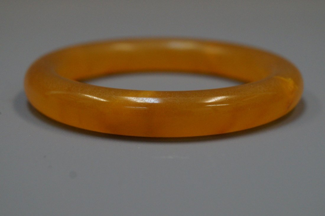 Topaz (Golden jade) bracelet