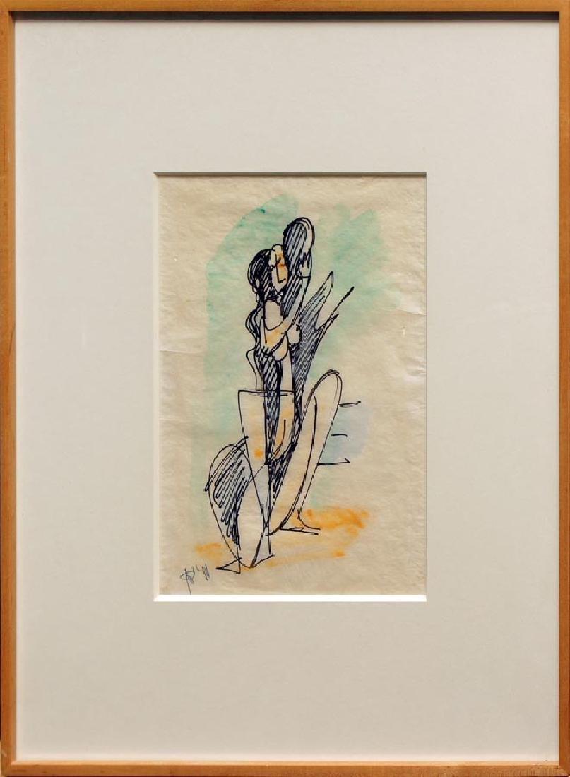 Janco, Marcel,  (Romanian-Israeli 1895-1984), - 2