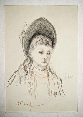 Paul Caesar Helleu,  French (1859 - 1927),
