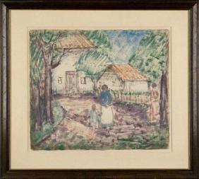 Walkowitz, Abraham ,  American (1880-1965) ,