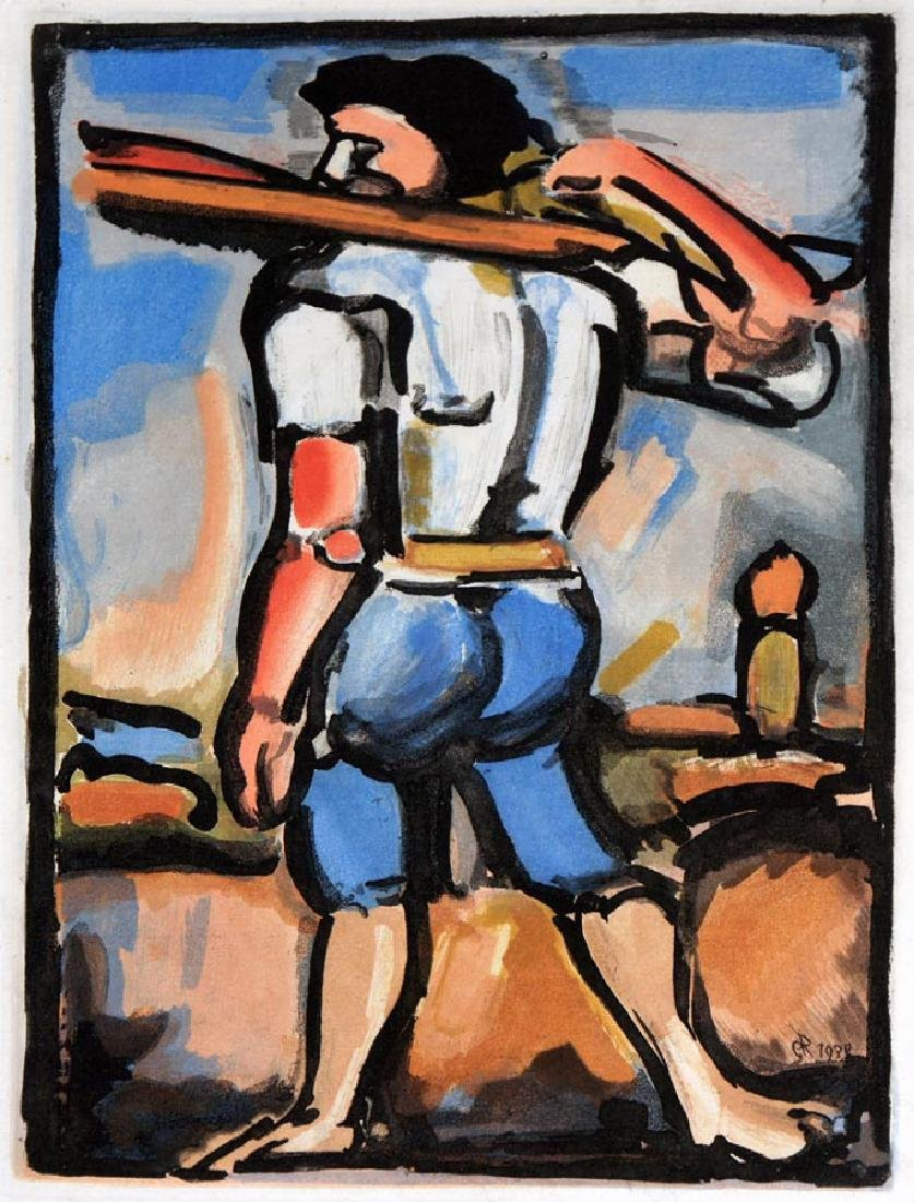 Rouault,       Georges,  French 1871-1958,