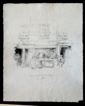 Whistler, James Abbott Mcneill,   Brittish 1834-1903,
