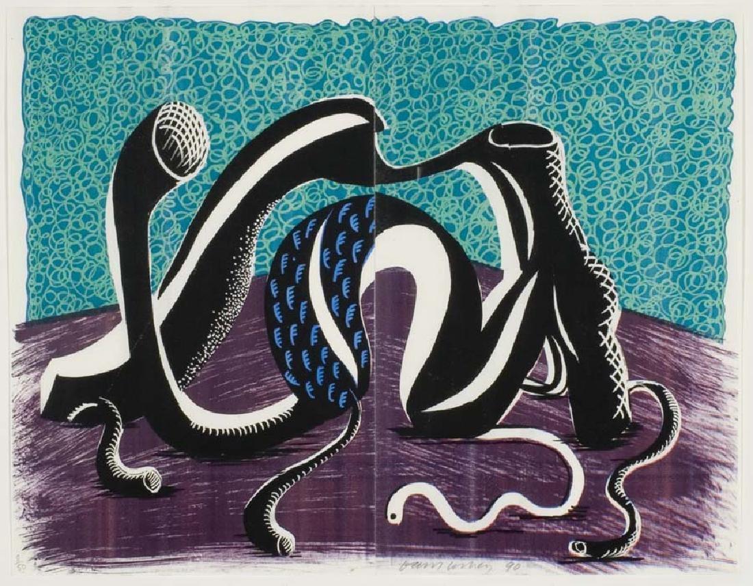 Hockney,  David,  British b. 1937,