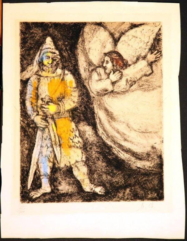 "534A: <b><h3>Title: ""Chagall, Marc"