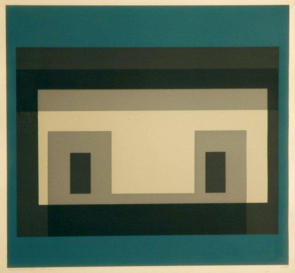 2: ALBERS,  JOSEPH German-American  (1888-1976)