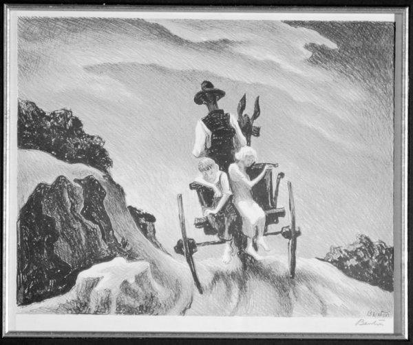 21: BENTON,  THOMAS HART  American (1889-1975)
