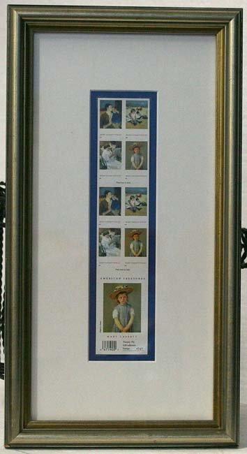 117:   ARTIST UNKNOWN     Title:  Set of two, framed se