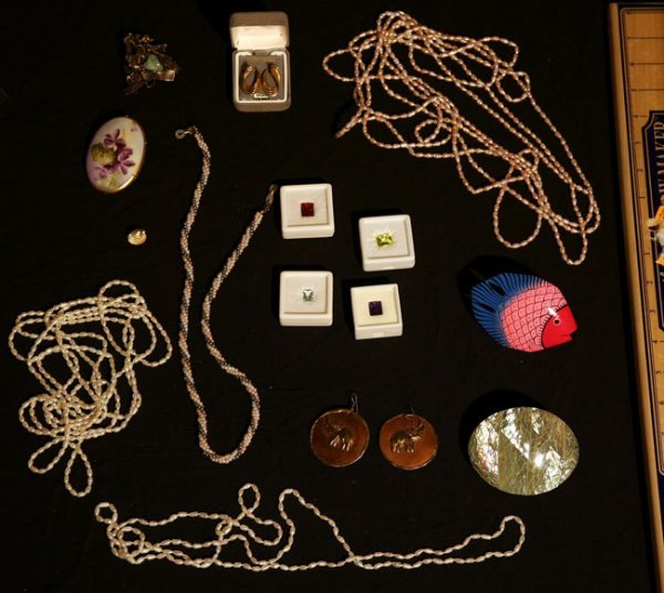 324:   JEWELRY-COSTUME,  A COLLECTION       , ,   ,  ,
