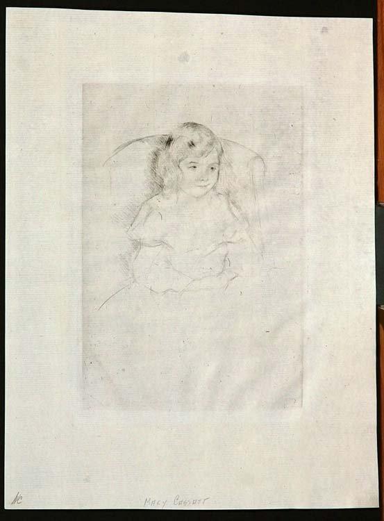 321:   CASSATT,   MARY  American 1844-1926