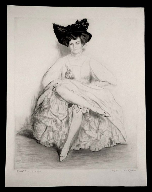 323:   CHAHINE,    EDGAR  French, 1874-1947