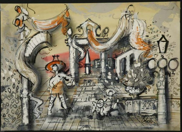 324:   COBELLE,   CHARLES  American (1902-1994)