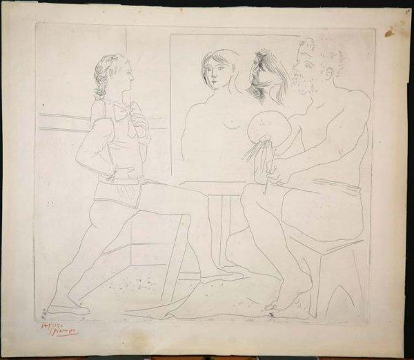 377:   PICASSO,   PABLO  Spanish 1889-1973