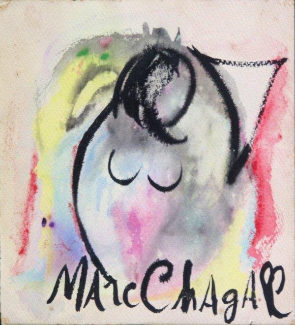 112:  CHAGALL,  MARC,   Russian 1887-1985,
