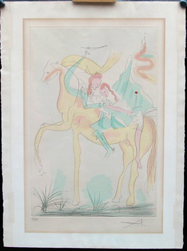118:  DALI,  SALVADOR,  Spanish 1904-1989,