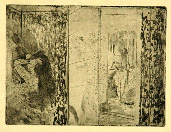 122:  DEGAS,    EDGAR,   French 1834-1917,