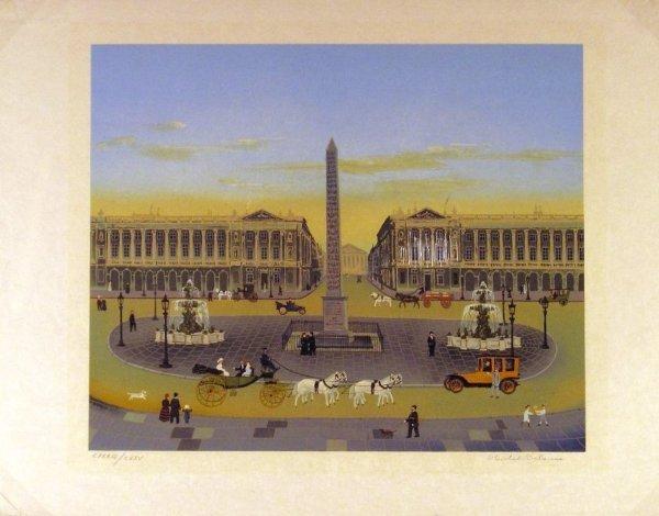 124:  DELACROIX,  MICHAEL,  20th century,