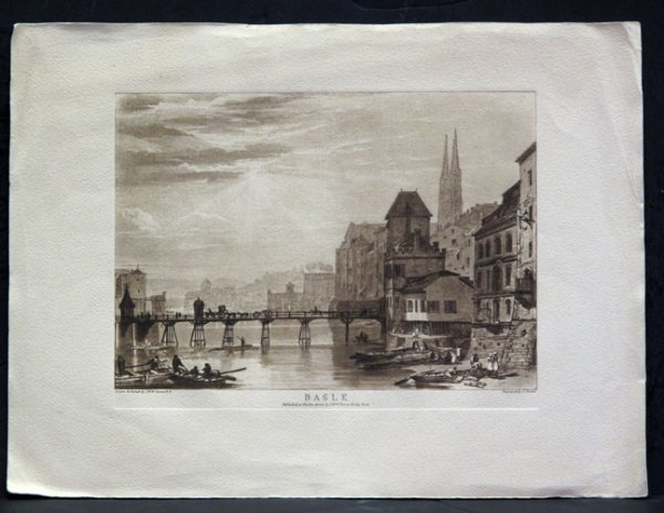 103:  19TH CENTURY  ENGLISH : TURNER,  J.M.W (AFTER) AN
