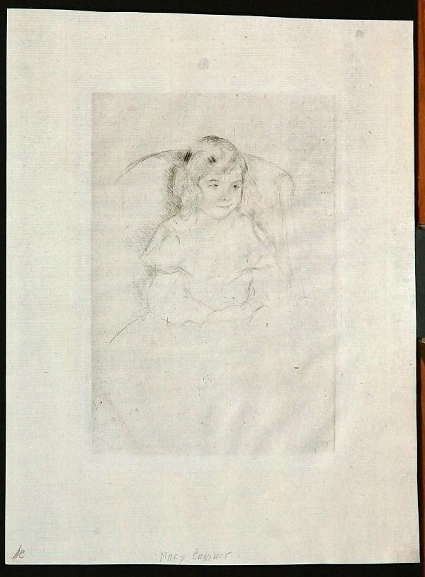 123:  CASSATT,     MARY,   American 1844-1926,