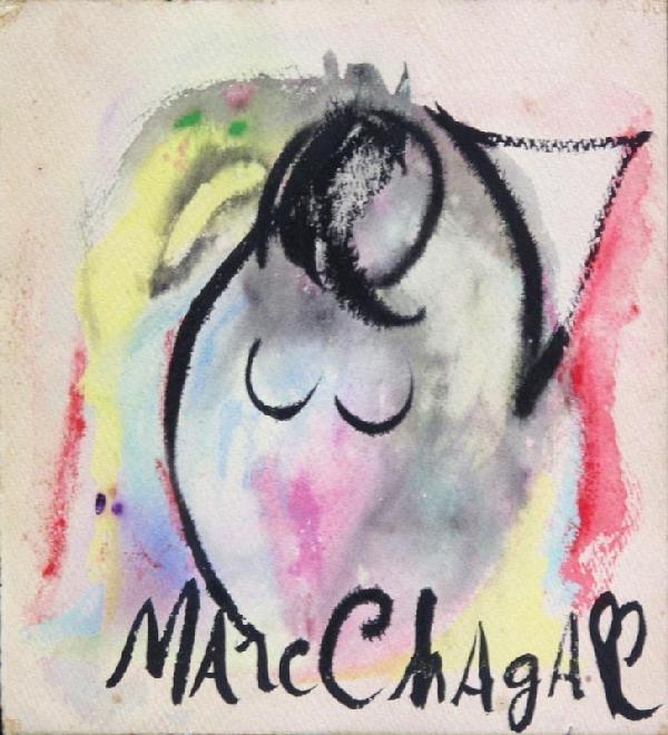 124:  CHAGALL,   MARC,   Russian 1887-1985,