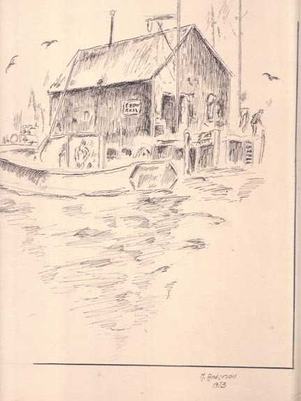 A COLLECTION: DRAWINGS AND ONE ETCHING,  20th Century,