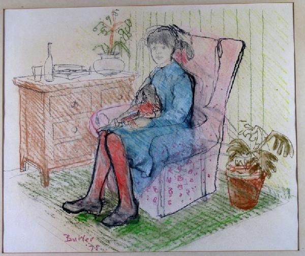 BUTLER,  JAMES,  British 20th century,