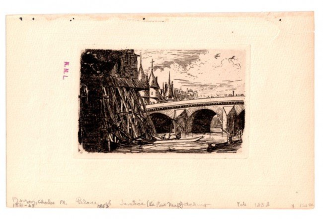 110:   A COLLECTION: FRENCH WORKS- 8 PRINTS,  19th Cent