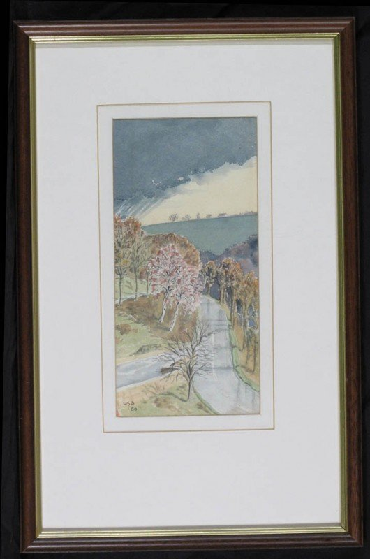 112:   A SMALL COLLECTION,   BRITISH WATERCOLORS,  20th