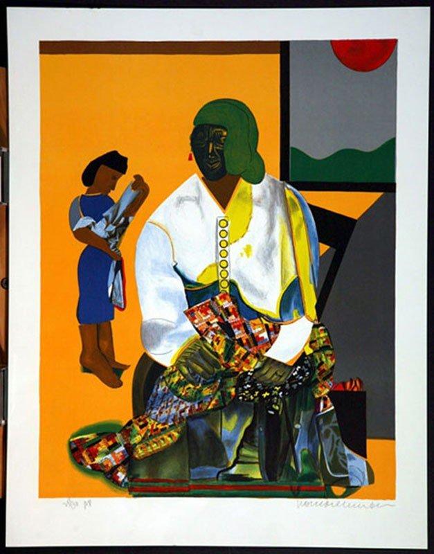 112:   BEARDEN,      ROMARE,   (1911-1988),