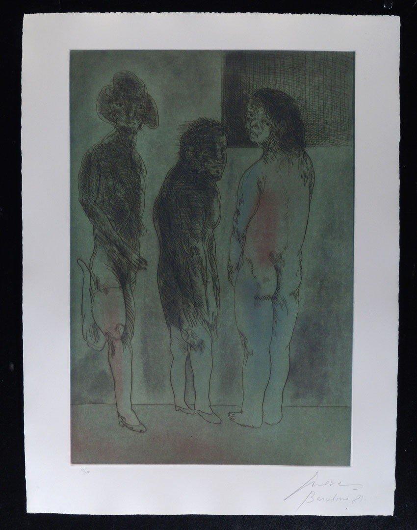 123:   CUEVAS,     JOSE LUIS,  Mexican b. 1934,