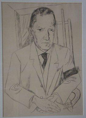 BECKMAN,  MAX,  German 1884-1950,
