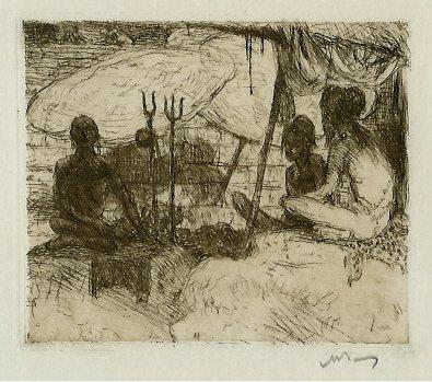616:     BAUER,  MARIUS A J  Dutch 1867 - 1932