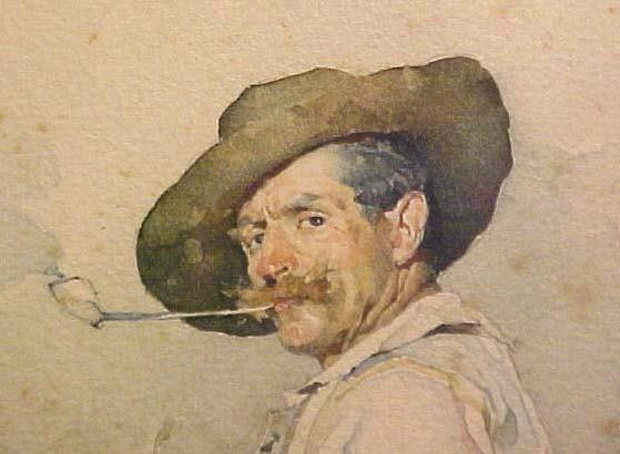 619:     BEDINI,   PAOLO  Italian, 1844-1924