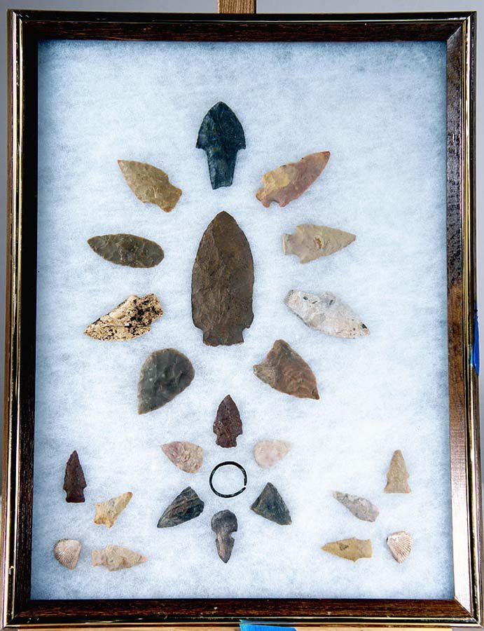 245:  ANCIENT STONE TOOLS COLLECTION,  ,