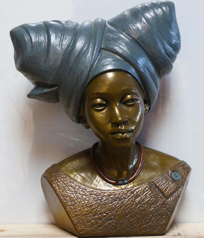 128:  CASPER D,  African  20th Century,