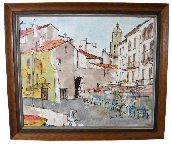148:  DUFOUR,  BERNARD,  French b. 1922,